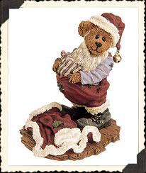 S. Kringlebeary ... Santa Wannabe Boyds Bear