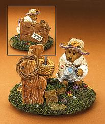 Sage Basketblooms Crocktopper Boyds Bear