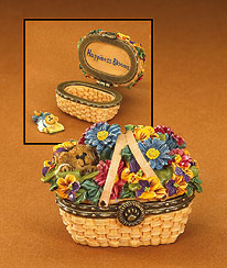 Sage Basketblooms Boyds Bear