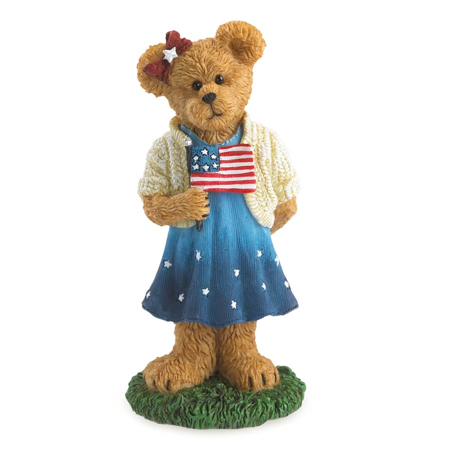 Sami Spangler...hooray For The Red, White & Blue Boyds Bear