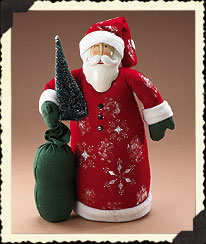 Santa Door Stop Boyds Bear