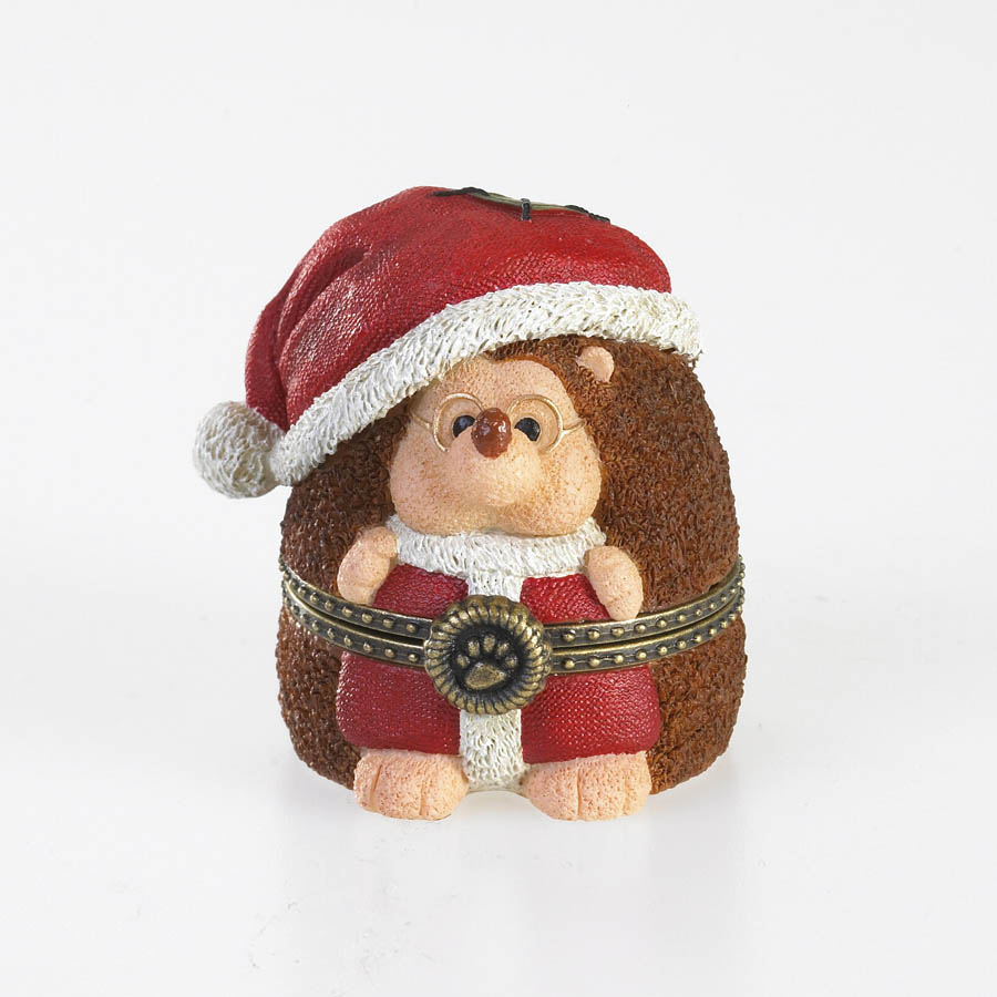 Santa Hedge 'n Claus Boyds Bear