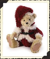 Santa Shutterbear Boyds Bear