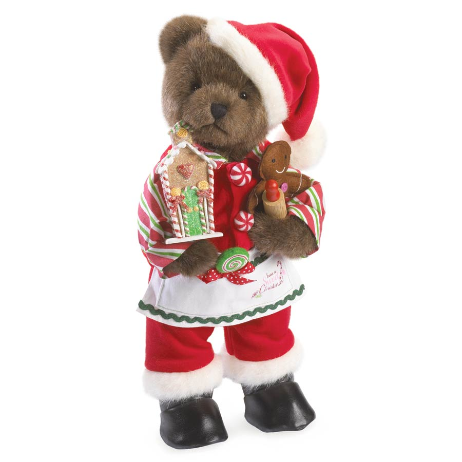 Santa Sweetnick Boyds Bear