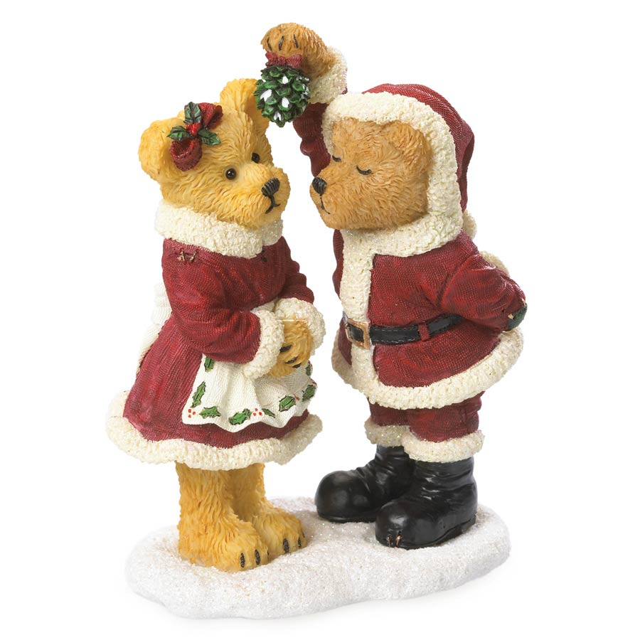Santa & The Missus...christmas Smooches Boyds Bear