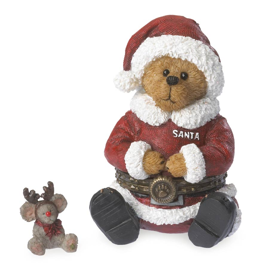 Santa With Glow Mcnibble Boyds Bear