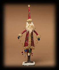 Santa's Gift Garland Tablepiece Boyds Bear