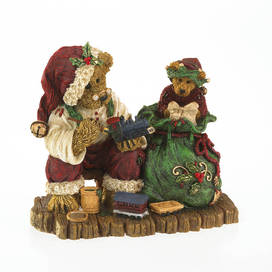 Resin - 2012 Winter Boyds Bears