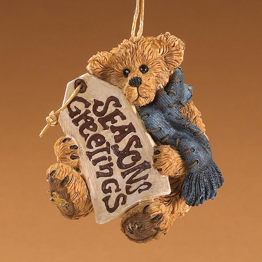 Season's Greetings Boyds Bear