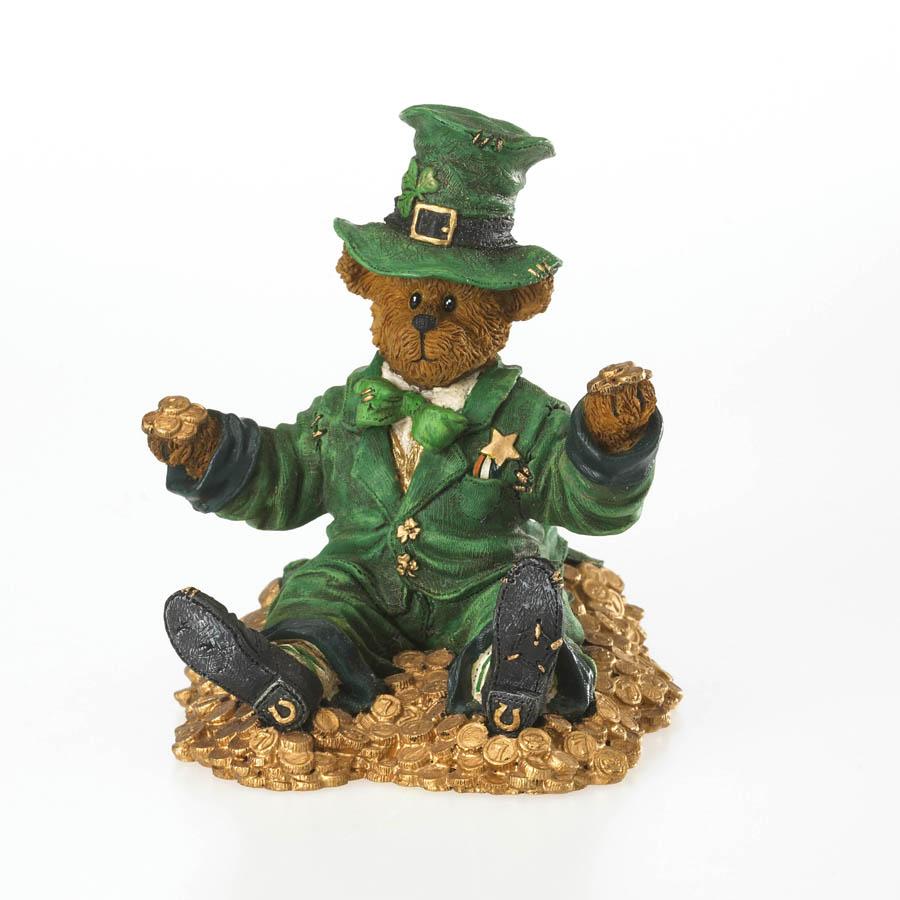 Shamus O'malley ... Feelin Lucky? Boyds Bear