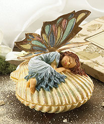 Shellsea Faeriesprite Keepsake Box Boyds Bear