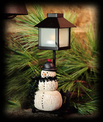 Snow Bright Lamp Post Boyds Bear
