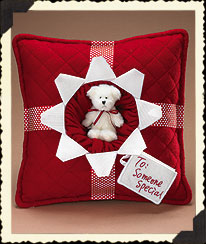 Someone Special Present Pillow Boyds Bear