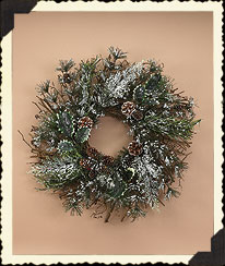 Sparklefrost Wreath Boyds Bear