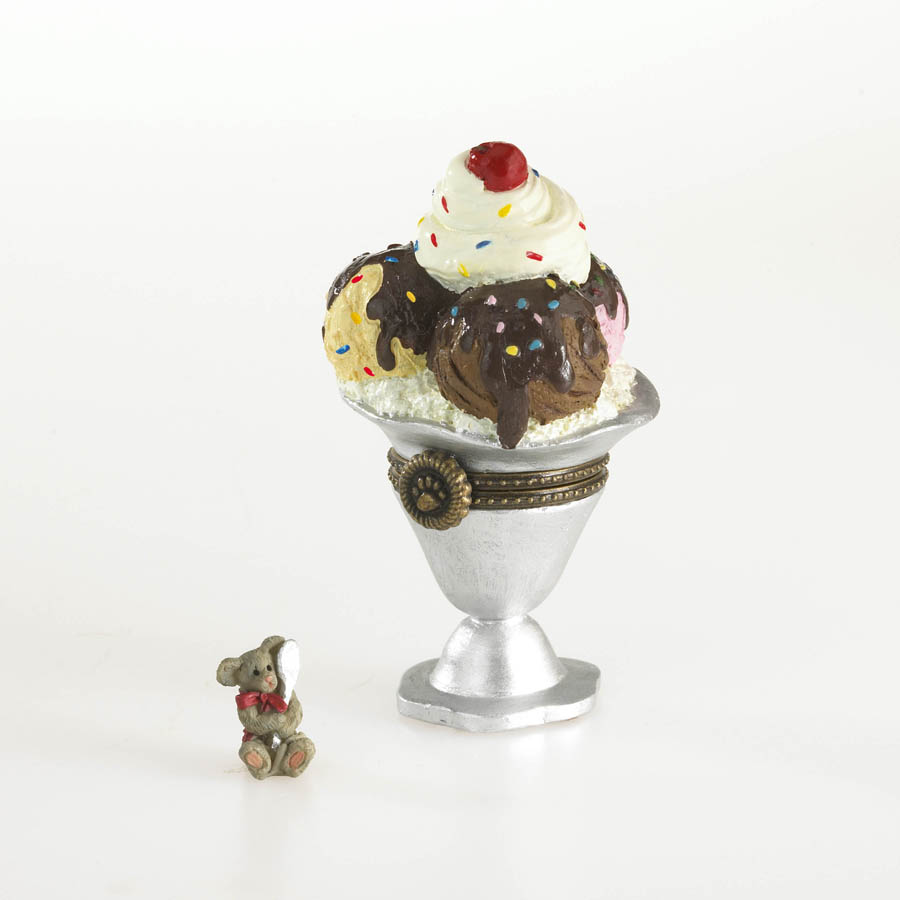 Sprinkle's Sundae With Scoop Mcnibble Boyds Bear