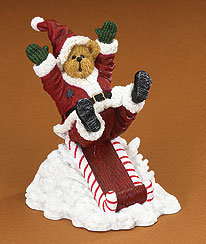 St. Nick Chillybuns... Wheeee! Boyds Bear