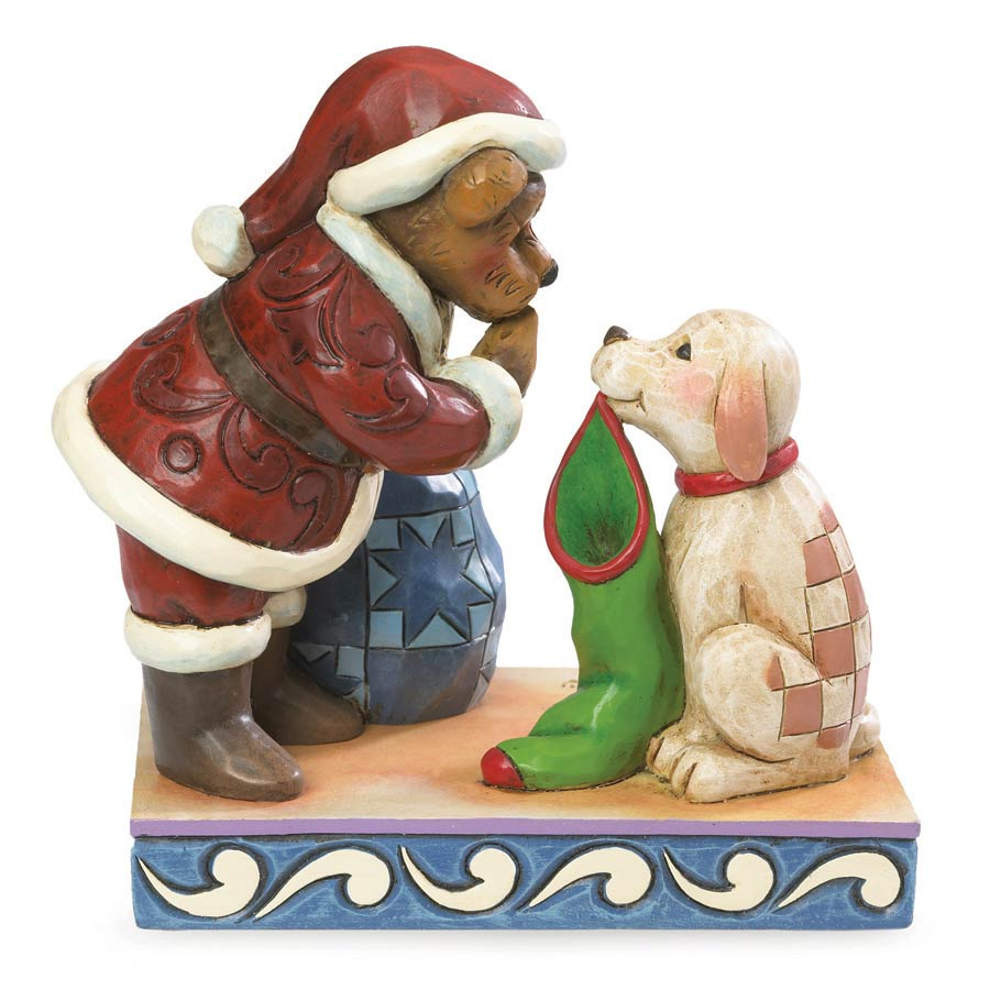 St. Nick With Buster...the Night Before Christmas Boyds Bear