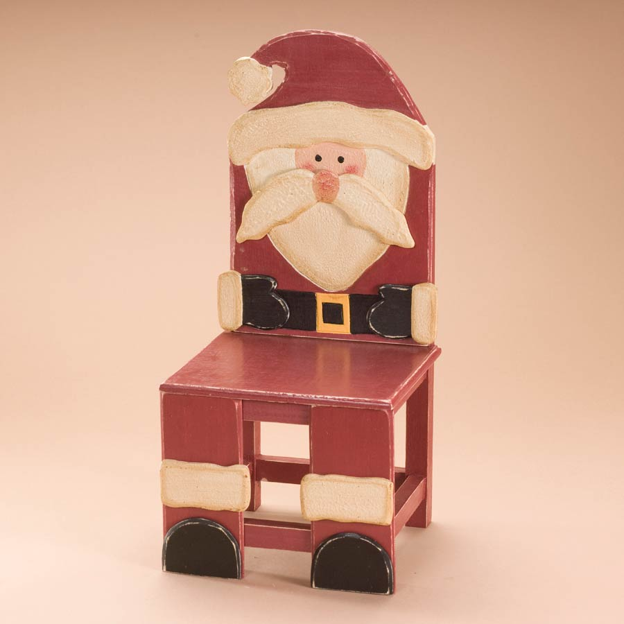 St. Nick's Chair Boyds Bear
