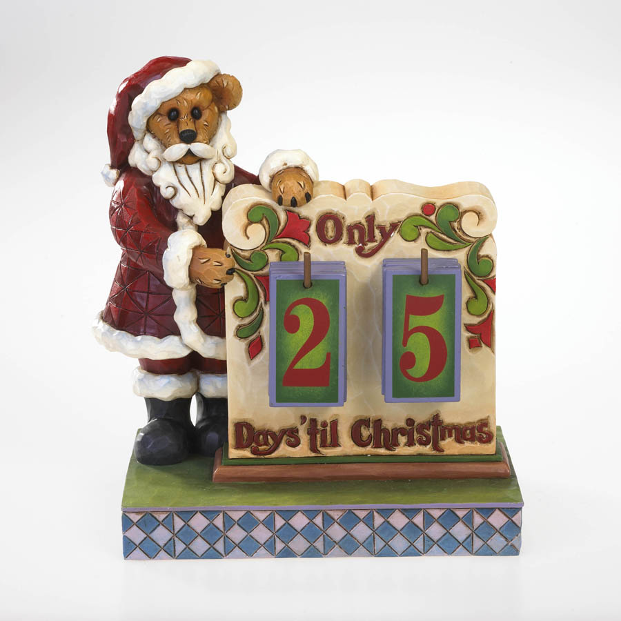 St. Nick's Christmas Countdown Calendar Boyds Bear