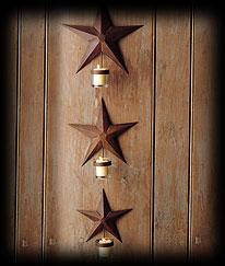 Star Barn Light Candleholders Boyds Bear
