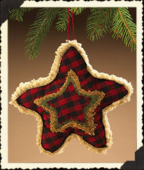Star-shaped Ornament Boyds Bear