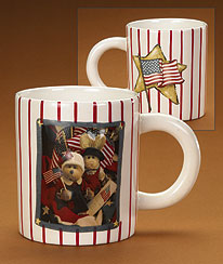 Stars And Stripes Mug Boyds Bear