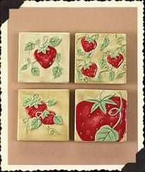 Strawbeary Fields Magnets Boyds Bear