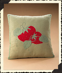 Strawbeary Fields Pillow Boyds Bear
