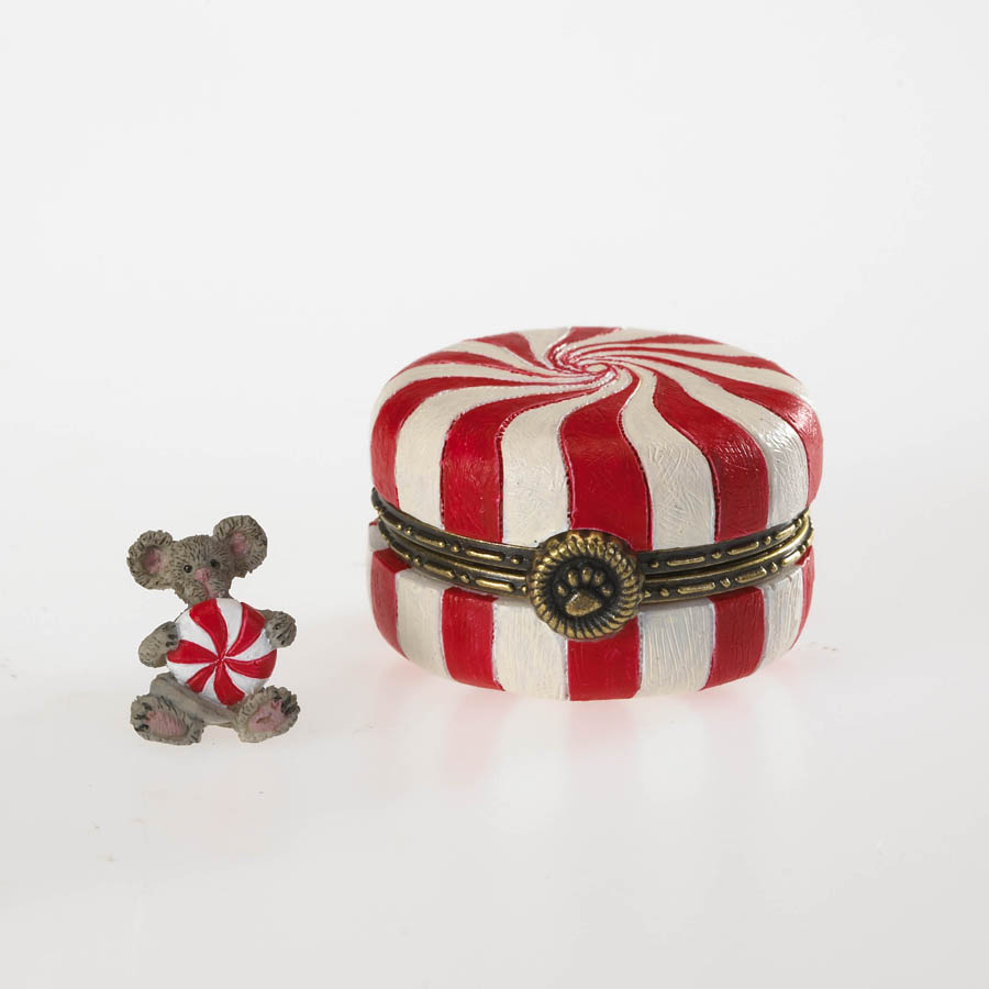 Sugar's Peppermint Candy With Mintley Mcnibble Boyds Bear