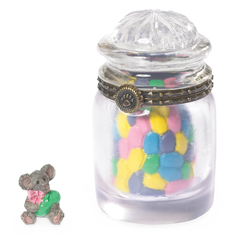 Sweetie's Candy Jar With J.b. Mcnibble Boyds Bear