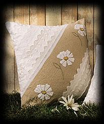 Swiss Daisy Pillow Boyds Bear
