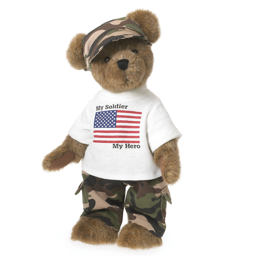 Teddy Patriot Boyds Bear