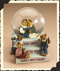 The Coca-cola®® Friendship Waterglobe Boyds Bear