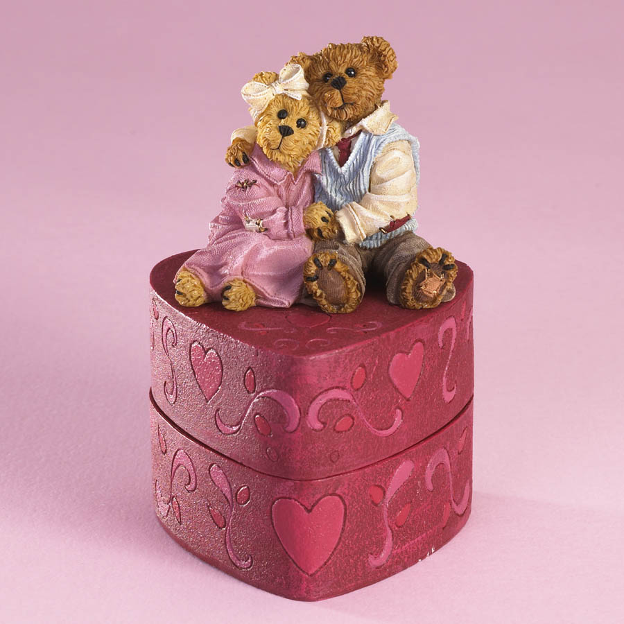 The Love Bears' Keepsake Box Boyds Bear