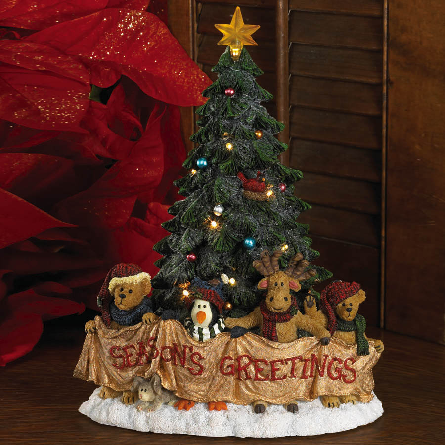 Theo And Friends... Season's Greetings To All! Boyds Bear