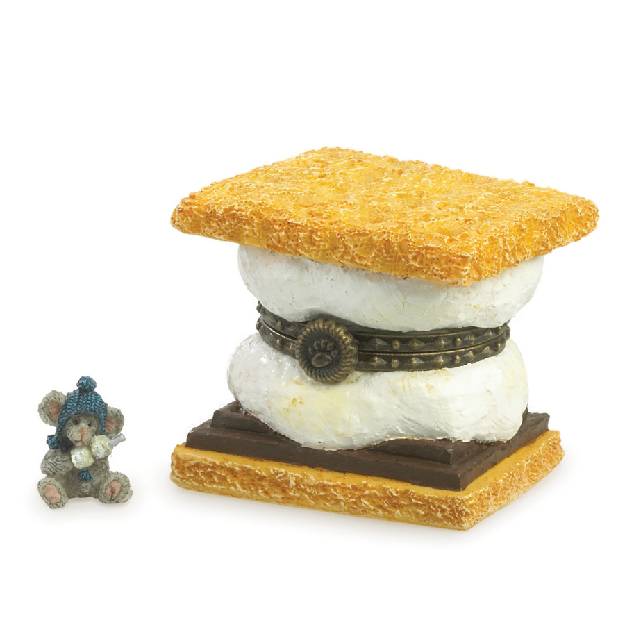 Toasty's S'more With Graham Mcnibble Boyds Bear