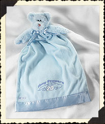 Tony Stewart #20 Blue Blanket Buddy Boyds Bear
