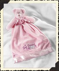 Tony Stewart #20 Pink Blanket Buddy Boyds Bear