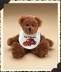 Tony Stewart Baby Bib Bear Boyds Bear