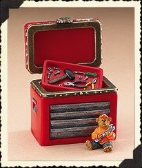 Tony Stewart Hinged Box Boyds Bear