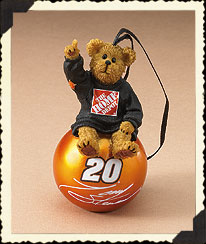 Tony Stewart Ornament Ball Boyds Bear
