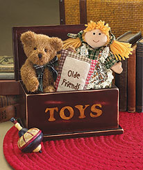 Toy Box Of Friendship & Memories Pac Boyds Bear