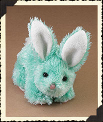 Turquoise Lil' Hop Bunny Boyds Bear