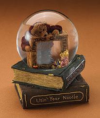 U.b. Wise Water Globe Boyds Bear