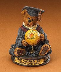 Victor The Graduate Boyds Bear