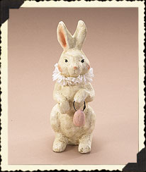 Vintage Easter Standing Bunny Figurine Boyds Bear