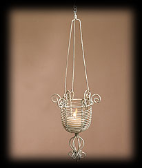 Vintage Garden Mini Finial Basket Boyds Bear