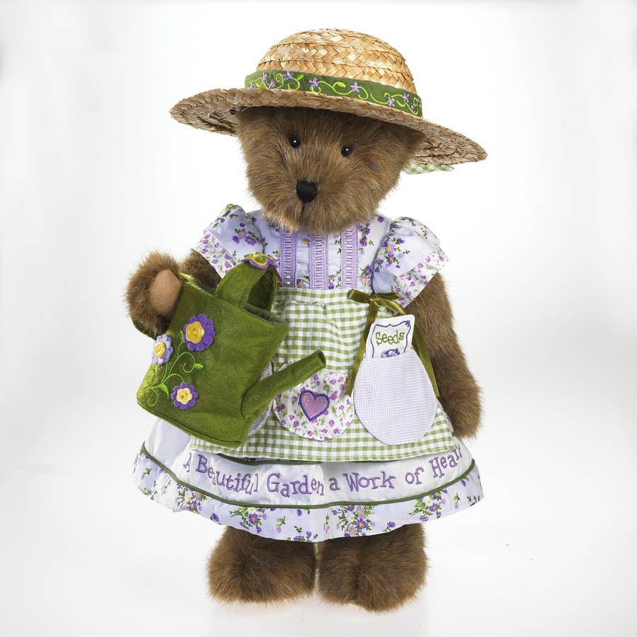 Violet Bloomin' Beary Boyds Bear