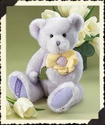 Violet & Petals Boyds Bear