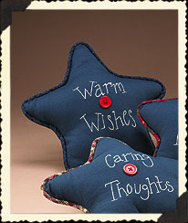 Warm Wishes Sachet Star Pillow Boyds Bear